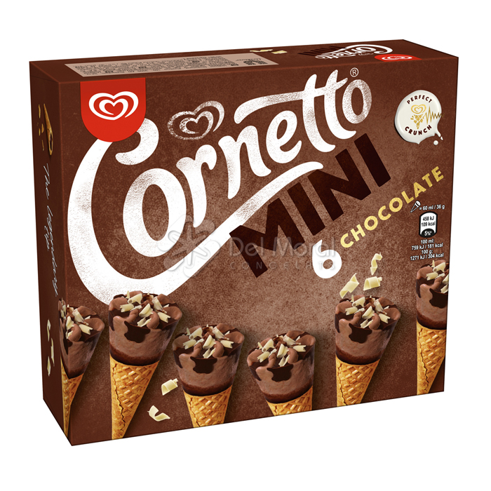 6 CORNETTO MINI XOCO - FRIGO